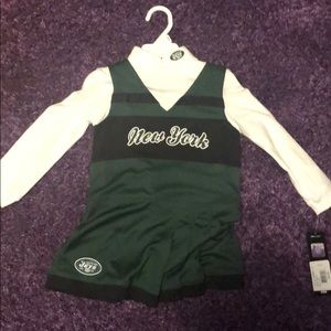 Other - Toddler girl cheerleader outfit